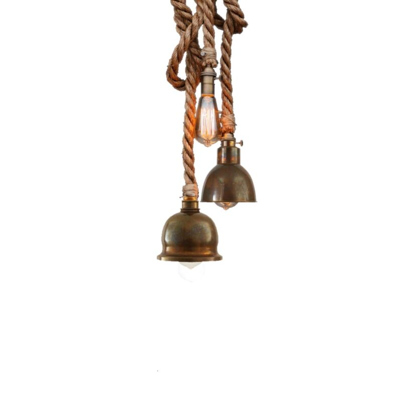 rope cluster pendant lights e2 contract lighting products uk