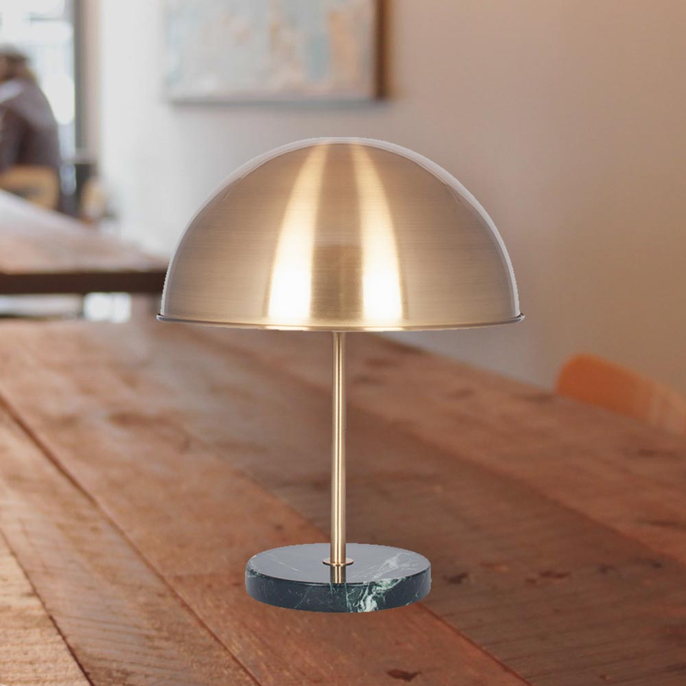 Rose Gold Marble Table Lamp Cl 37254 E2 Contract