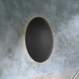 Round Back Wall Light