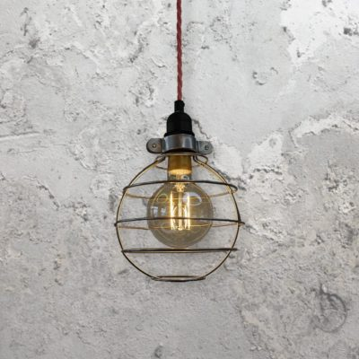 Round Cage Pendant Light
