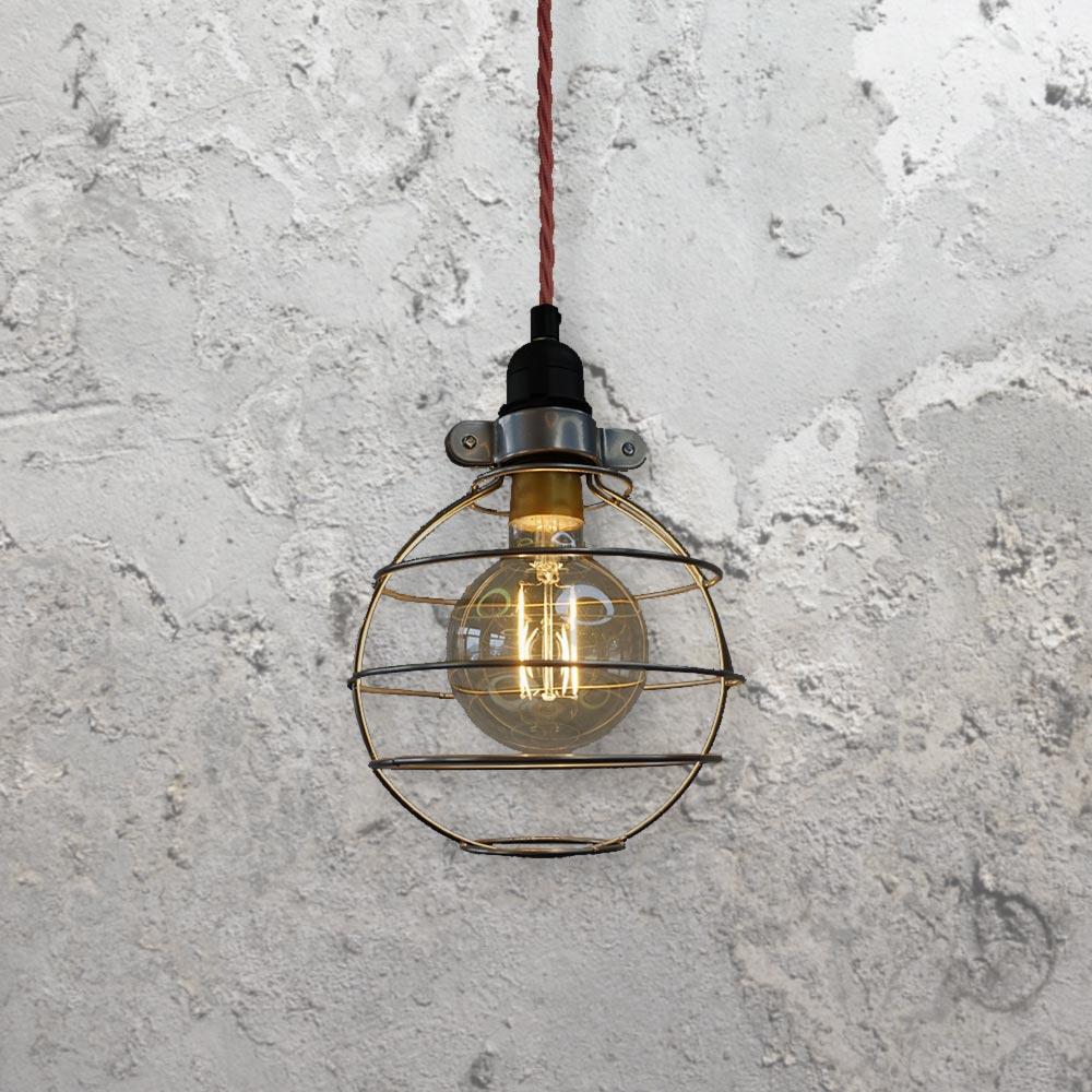 Round Cage Pendant Light CLB-00517