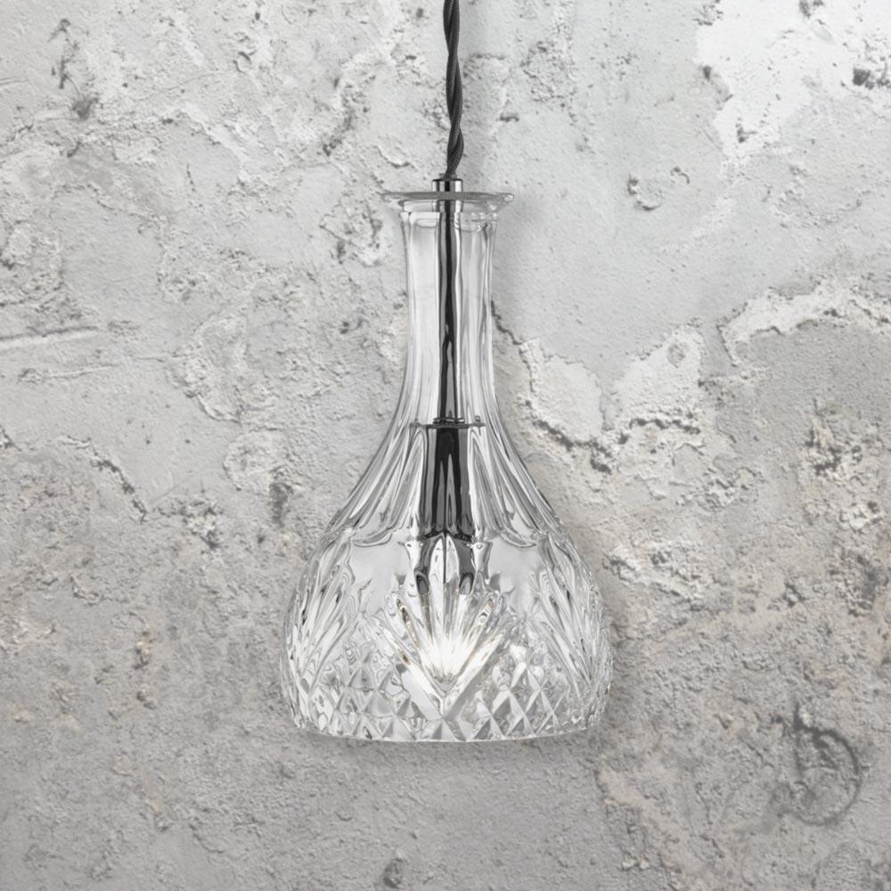 Round Glass Decanter Pendant Light CL 24641