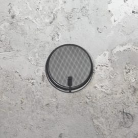 Round Mesh Wall Light