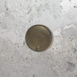 Round Mesh Wall Light