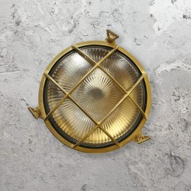 Exterior Round Solid Brass Bulkhead Light,Round Bulkhead Light