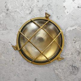ExteriorRound Solid Brass Bulkhead Light,Round Bulkhead Light