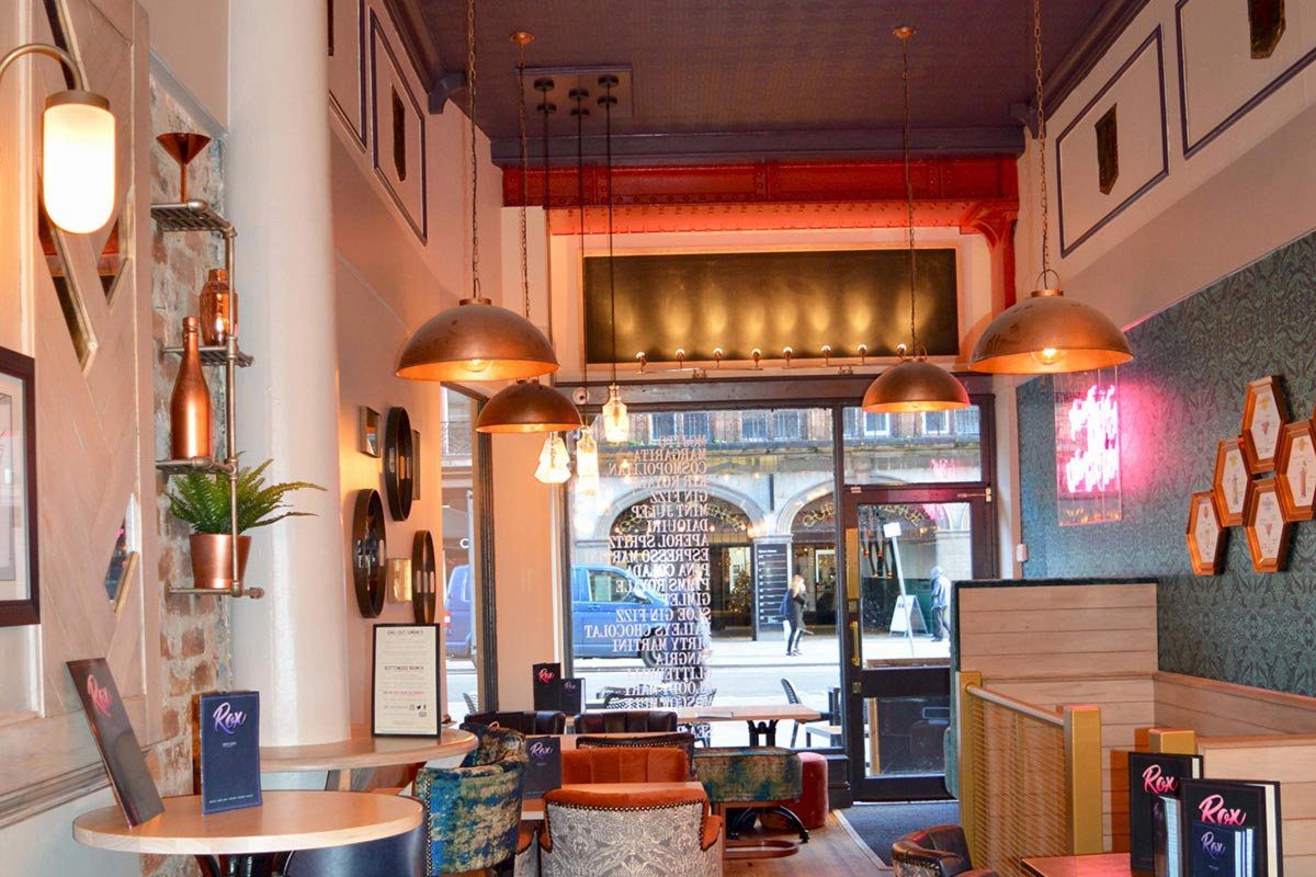Rox Liverpool Industrial Lighting