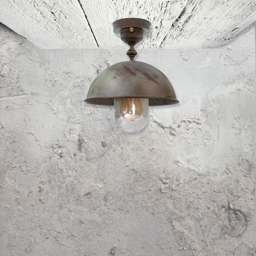 Rustic Ceiling Light Clb 00503 E2 Contract Lighting