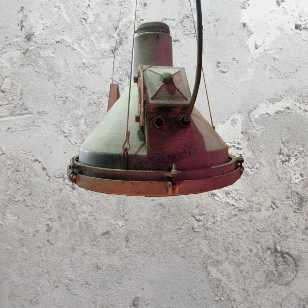 Rustic Factory Pendant
