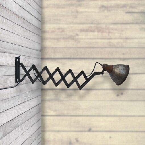 Rustic Scissor Wall Light