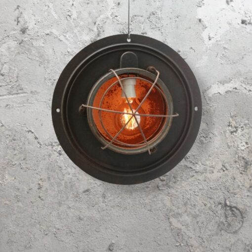 Salvaged Industrial Pendant