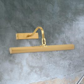 Satin Brass Picture Light