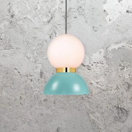 Scandinavian Opal Pendant Light,4 light contemporary pendant