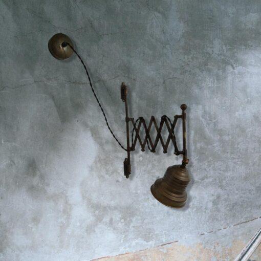Scissor Cage Wall Light