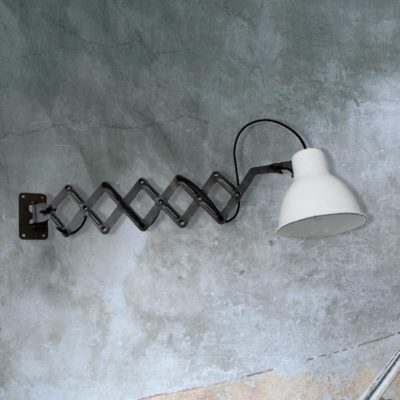 Iron Scissor Wall Light