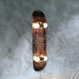 Rustic Skateboard Light Fitting