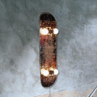 Rustic Skateboard Light Fitting