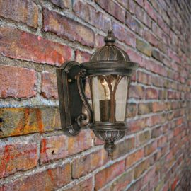 Small Bronze Wall Lantern