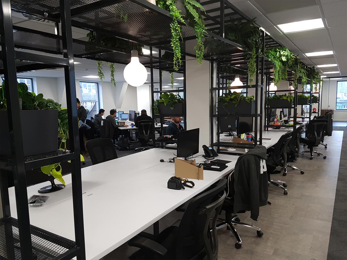 Space 48 Manchester Office Lighting