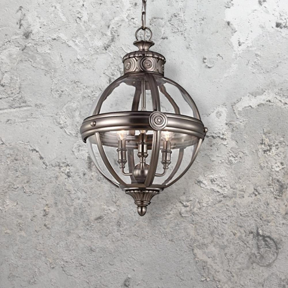 Spherical Bronze Pendant Light CL 29428
