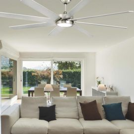 Steel Modern Ceiling Fan