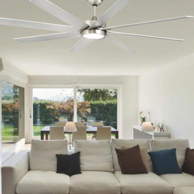 Steel Modern Ceiling Fan