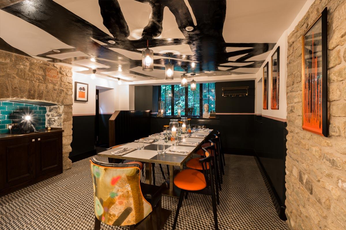 Téatro Bar & Restaurant Cirencester Dinning
