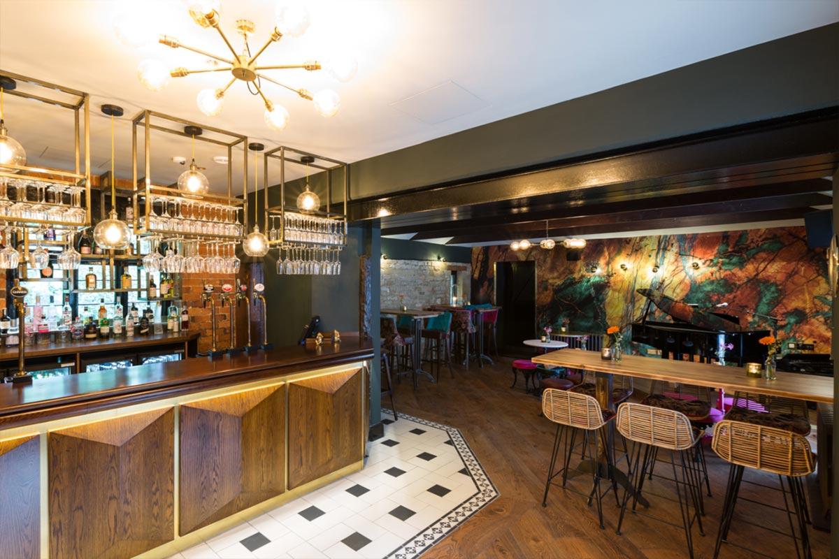 Téatro Bar & Restaurant Cirencester Lighting