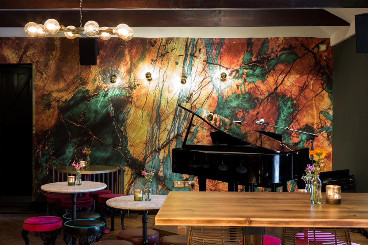 Téatro Bar & Restaurant Cirencester,bar and restaurant lighting