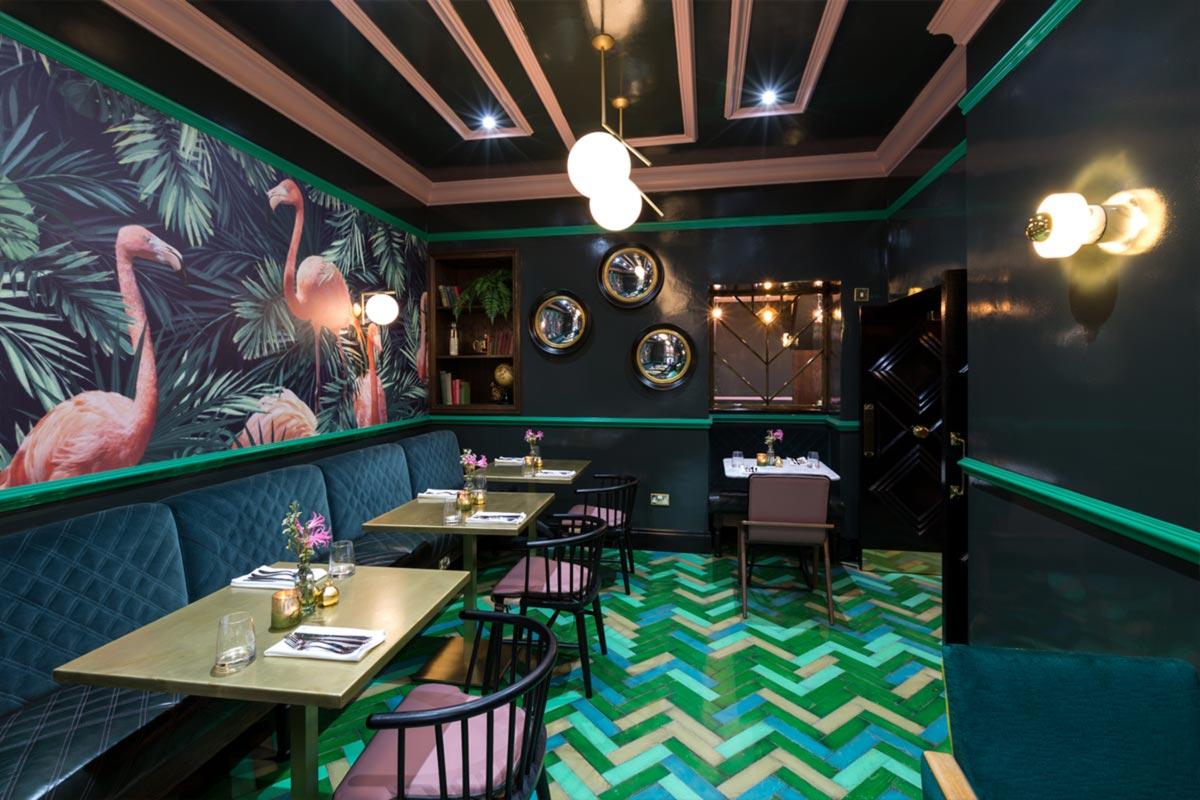 Téatro Bar & Restaurant Cirencester Wall Lights
