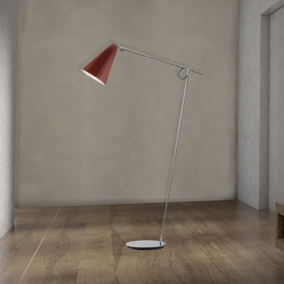 Modern Adjustable Chrome Floor Lamp,chrome finish adjustable arm floor lamp,chrome adjustable floor lamp