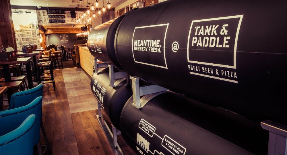 Tank & Paddle Heddon Street Beer