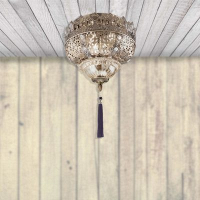 Tassel Flush Light