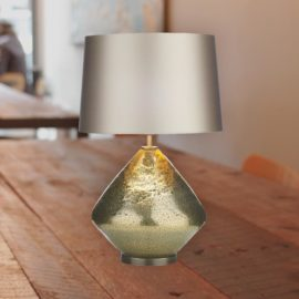 Textured Gold table Lamp Base