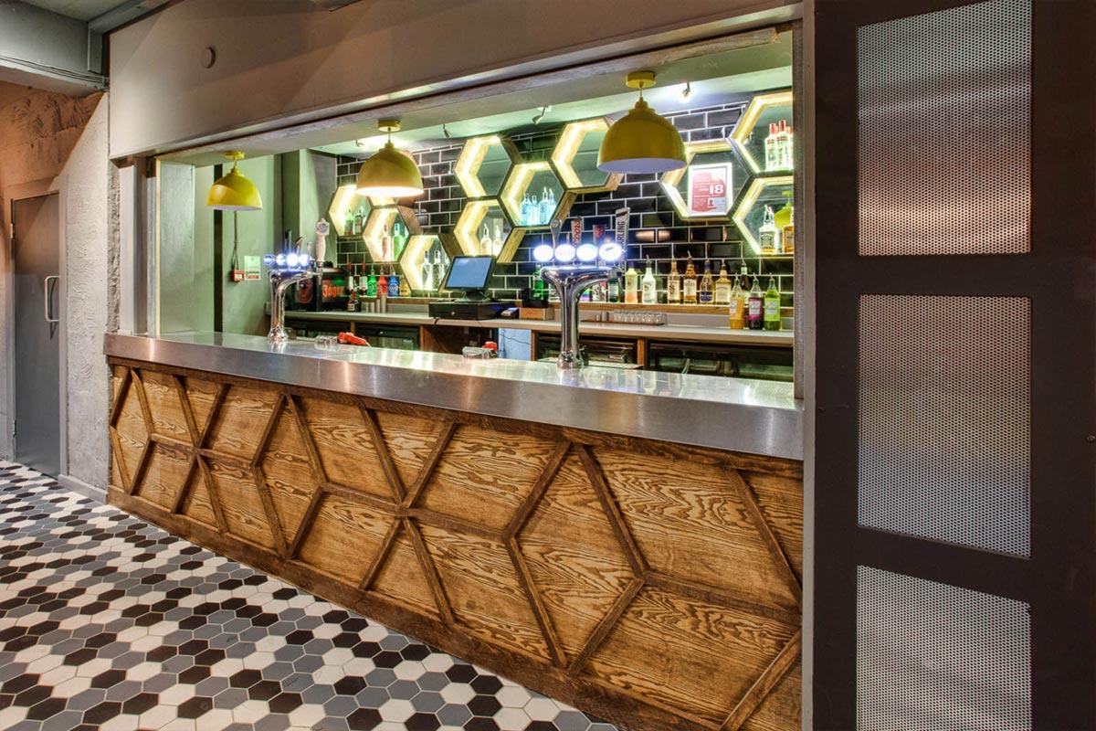 The Hive, Manchester Bar Pendants