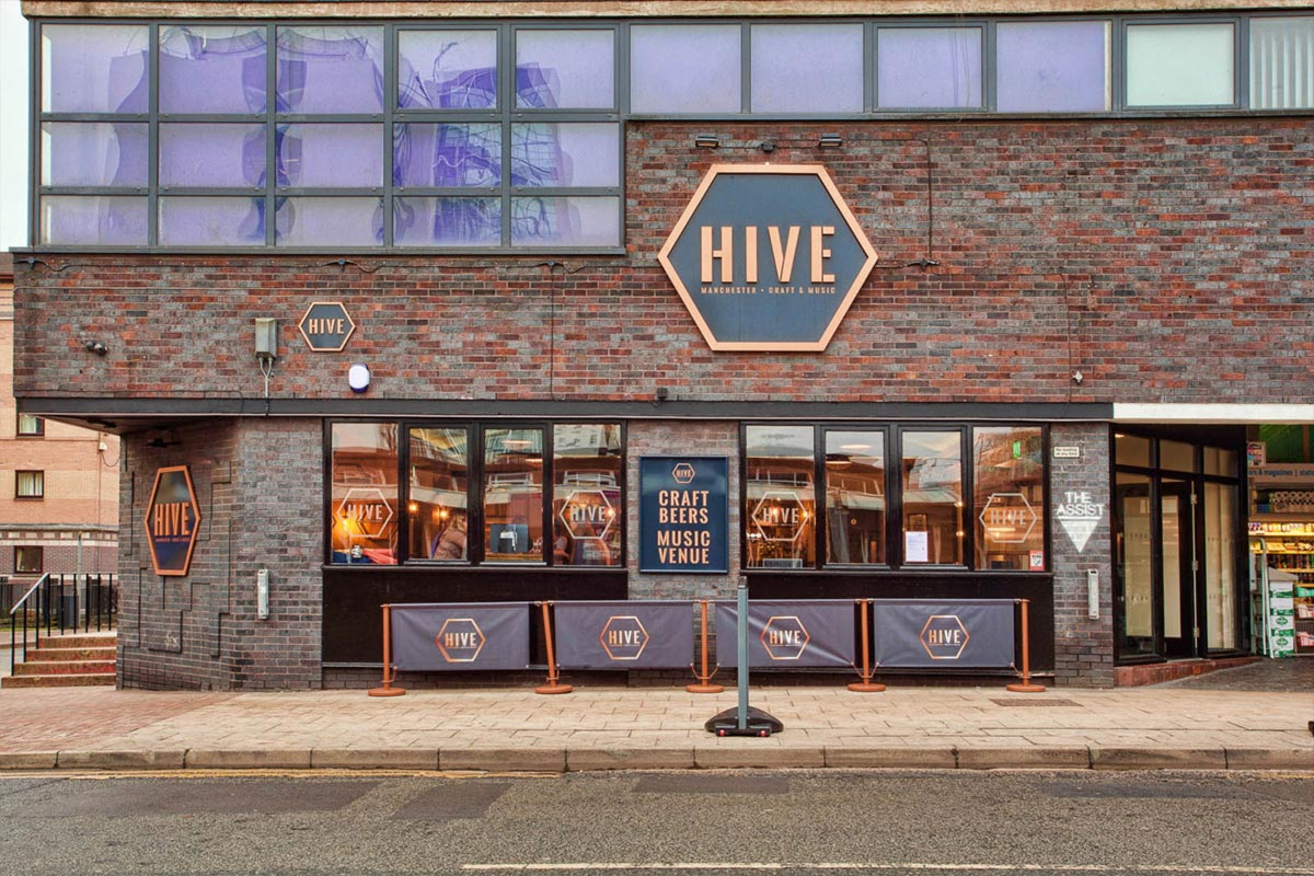 The Hive, Manchester Outdoor