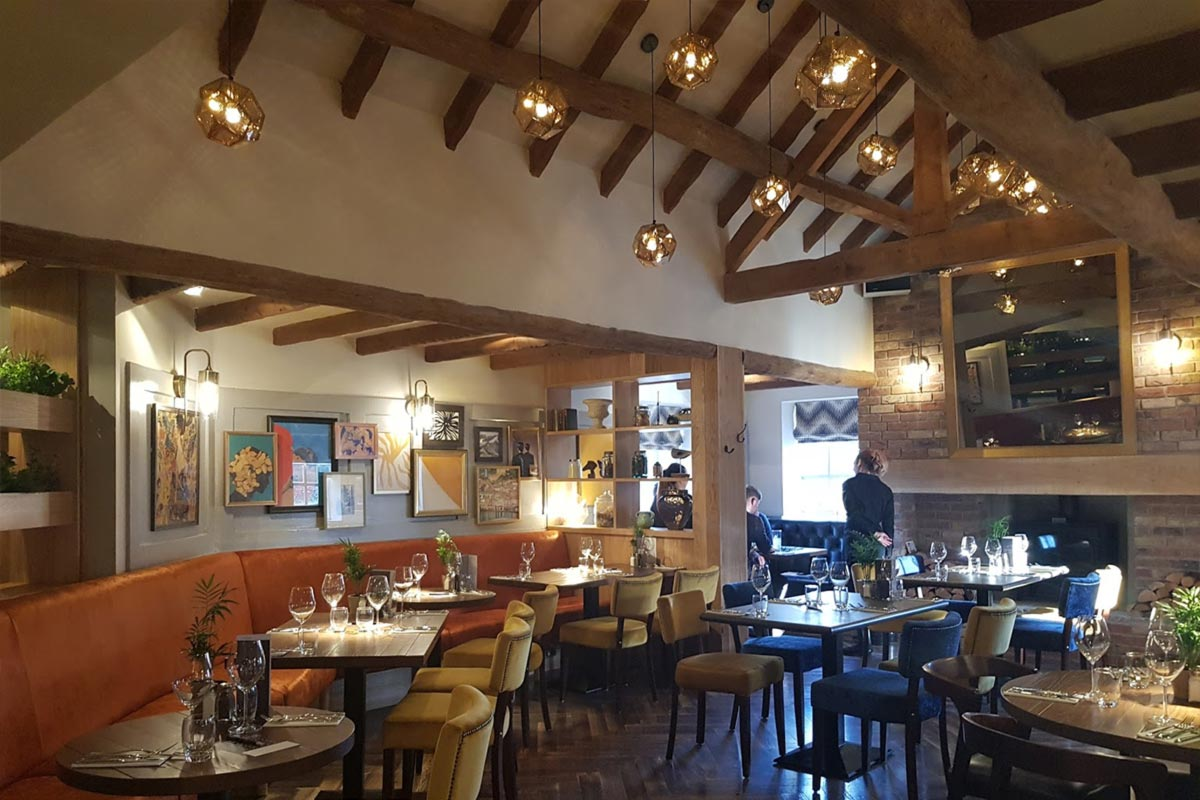 The Seven Stars Brocton Restaurant Lighting E2 Contract Lighting Uk