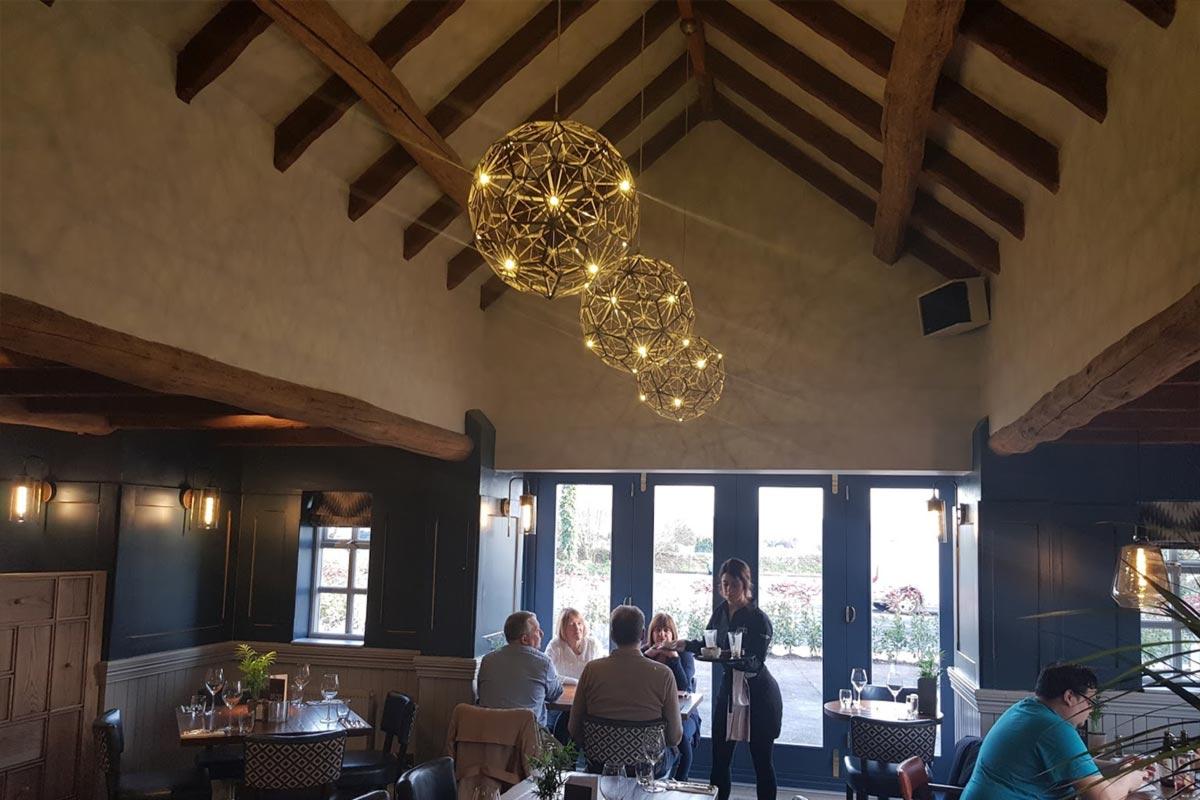 The Seven Stars Brocton Restaurant Lighting E2
