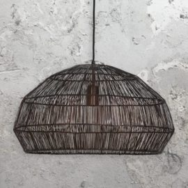 Thick Copper Wire Pendant Light