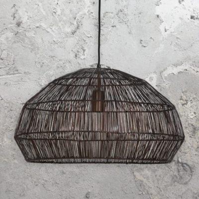 Thick Copper Wire Pendant Light