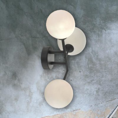 Triple Globe Wall Light