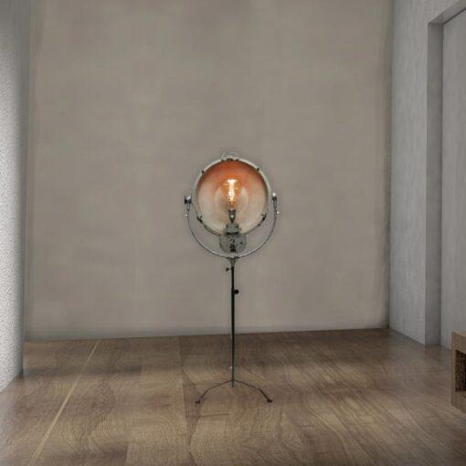Rustic Reclaimed Floor Spotlight