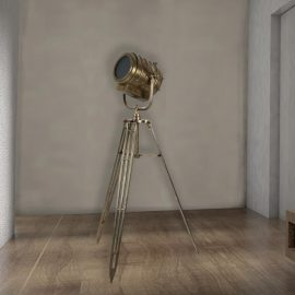 Tripod Theatre Floor Lamp