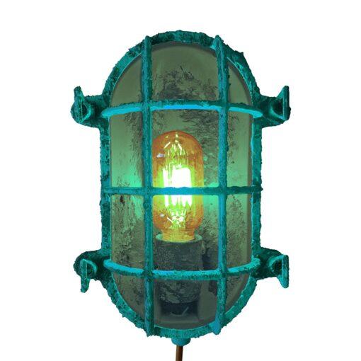 Turquoise Open Oval Bulkhead