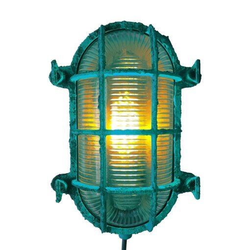 Turquoise Oval Bulkhead