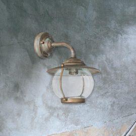 Verdigris Industrial Wall Light