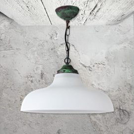 Verdigris Pendant Light