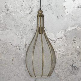 Vintage Bronze Mesh Pendant Light