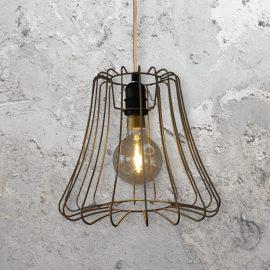 Vintage Cage Light Fitting