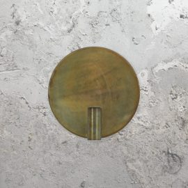 Vintage Gold Round Wall Light